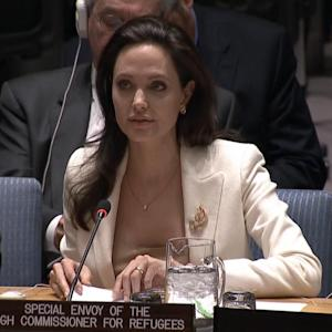 Angelina Jolie Implores U.N. To Empathize With Syrian Refugees