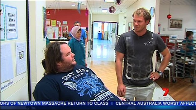 Aussie sailor offers support to disabled