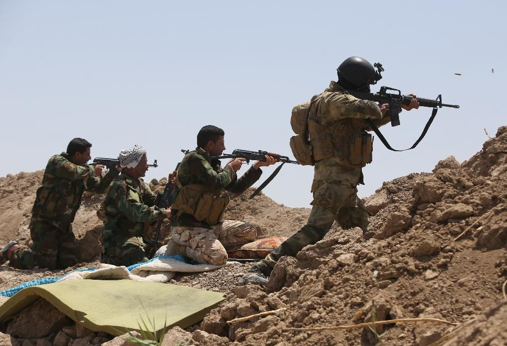 Jihadists firm up control of Iraq-Syria border