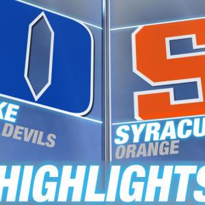 Duke vs Syracuse | 2015 ACC Men's Lacrosse Championship Highlights