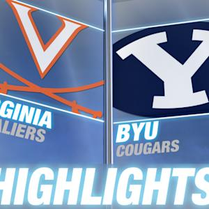 Virginia vs BYU | 2014 ACC Football Highlights