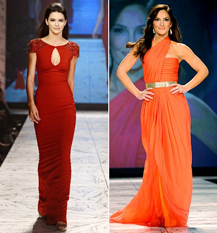 Kendall Jenner; Minka Kelly