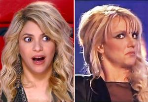 Shakira, Britney Spears | Photo Credits: NBC, Fox