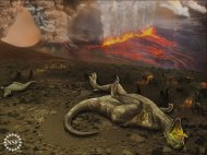 New research argues that volcanic activity from the Deccan Traps in India, not a meteorite impact, killed the dinosaurs.