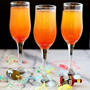 These beautiful, bubbling bellinis are fit for the whole family.