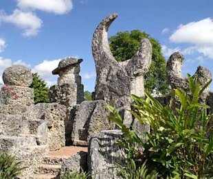 (Photo: Courtesy of Coral Castle) Coral Castle