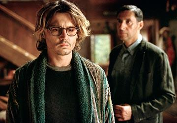 Johnny Depp and John Turturro in Columbia's Secret Window