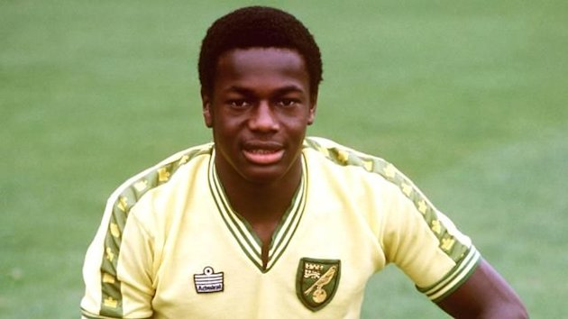 File photo of Justin Fashanu, Norwich City