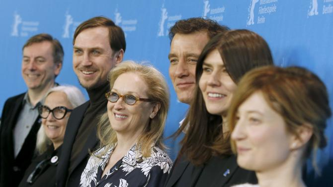 International jury for 66th Berlinale International Film Festival poses for photos in Berlin