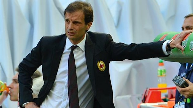 FOOTBALL 2012 Milan - Allegri