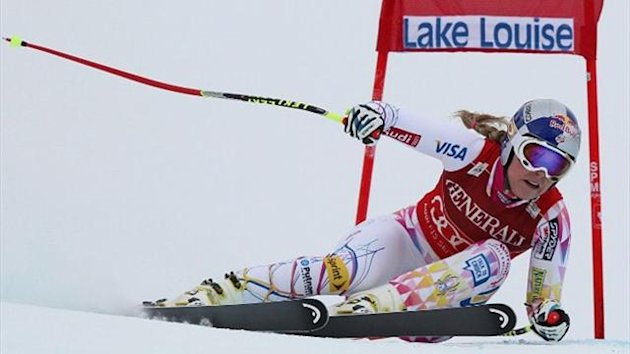 Lindsey Vonn, Lake Louise