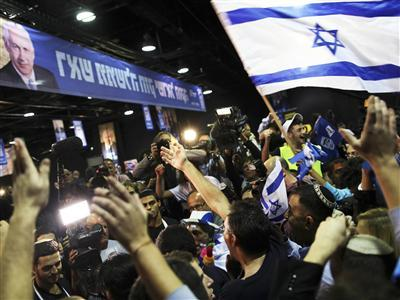 Exit Polls: Netanyahu, Allies Win Israeli Vote