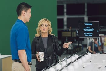 Amy Poehler Follows Up Golden Globes Gig With Super Bowl Ad