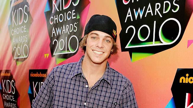 Professional skateboarder Ryan Sheckler arrives at Nickelodeon's 23rd Annual Kids' Choice Awards held at Pauley Pavilion at UCLA on March 27, 2010 in Los Angeles, California.