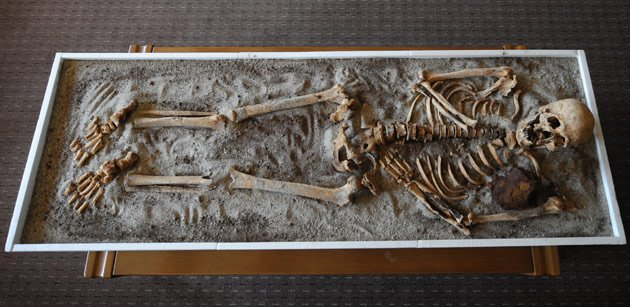 Another &amp;#39;vampire&amp;#39; skeleton found in Bulgaria