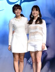 Jung Eun Ji, Song Hye Kyo