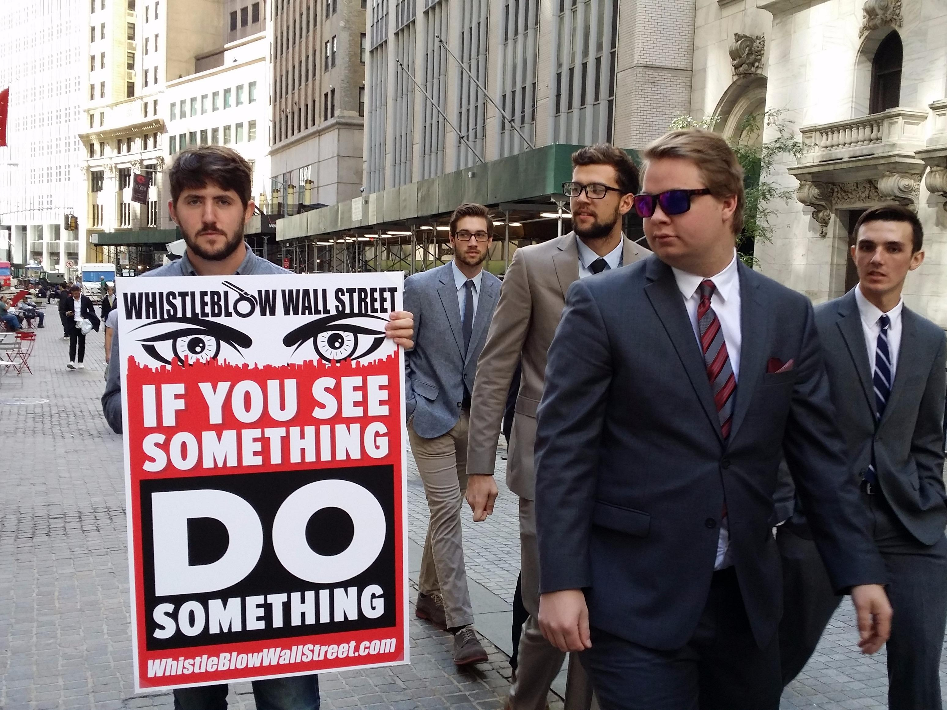 There are now ads for Wall Street whistleblowers