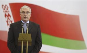 McQuaid, president of the UCI, attends the opening ceremony of the UCI Track Cycling World Championships in Minsk