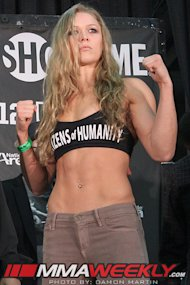 Ronda Rousey Strikeforce