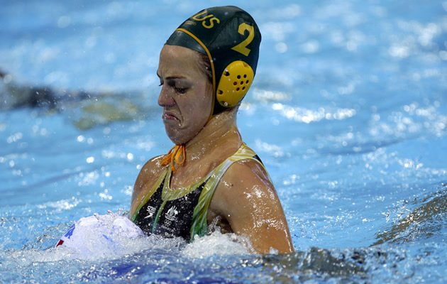 Australian waterpolo player Gemma Beadsworth (AP Images)