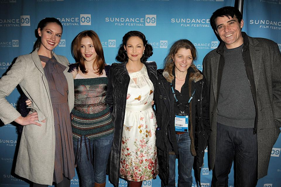 Sundance Film Festival Screenings 2009 Lauren Lee Smith Alexia Fast Ashley Judd Sandra Nettlebeck Goran Visnjic