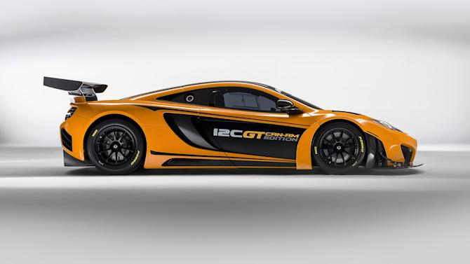 The 12C GT Can-Am Edition will cost £375,000 (McLaren)