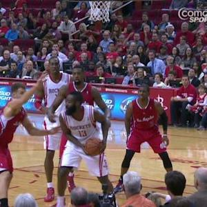 Houston's James Harden Fined for Flopping