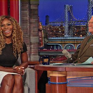 Serena Williams on Doubles Tennis with David Letterman