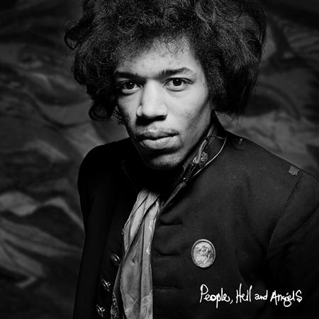 "The cover of the Jimi Hendrix album ""People, Hell and Angels"" is pictured in this handout photo courtesy of Experience Hendrix LLC and Legacy Recordings. REUTERS/Experience Hendrix LLC and Legacy Recordings/Handout"