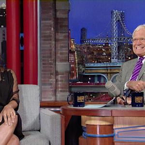 Zoe Saldana Talks Naked Cover & Tattoos - David Letterman