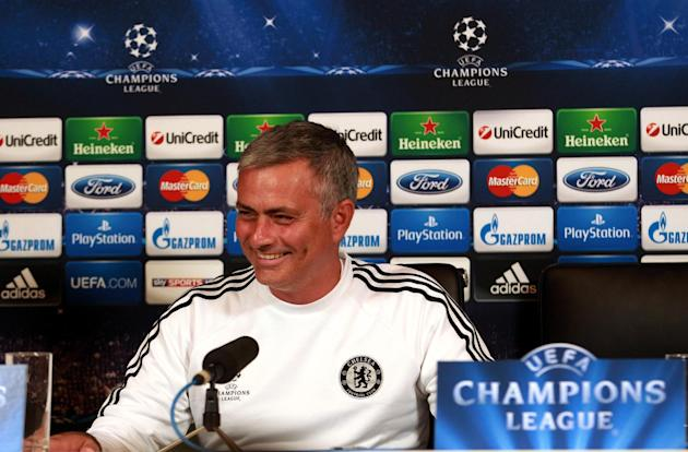 Soccer - UEFA Champions League - Group E - Chelsea v FC Basel - Chelsea Press Conference and Training - Cobham Training Ground
