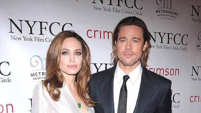 New York Film Critics Circle Awards 2012 Angelina Jolie Brad Pitt
