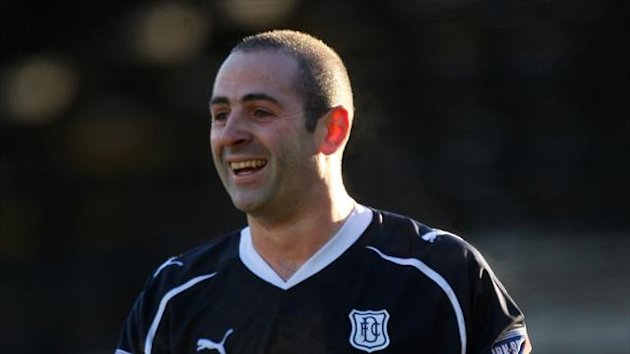 New Dundee boss John Brown has hailed Gary Harkins, pictured, as a 'gifted footballer'