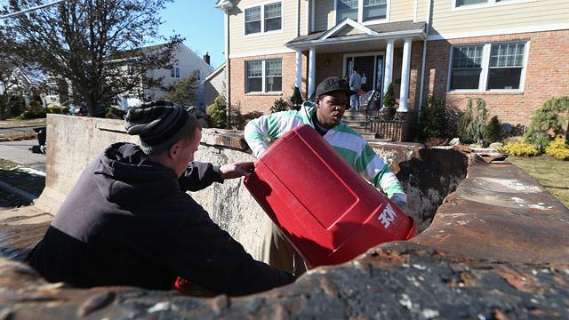 Superstorm Sandy: Long Lines, No Power Two Weeks Later