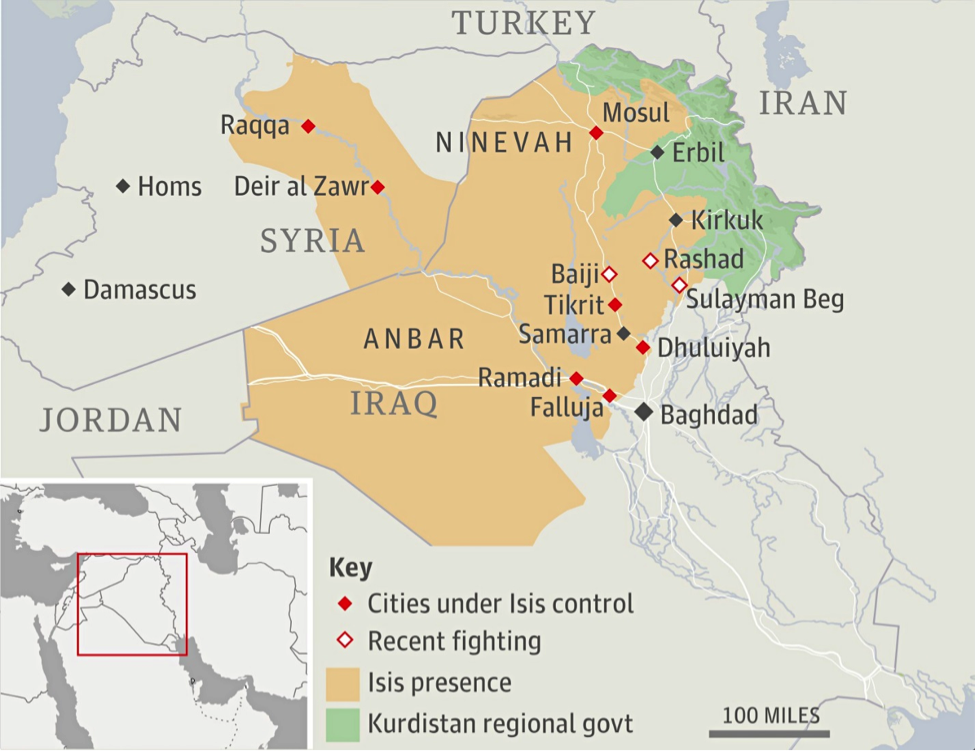 ISIS Suffers Heaviest Defeat in Iraq in a Single Day