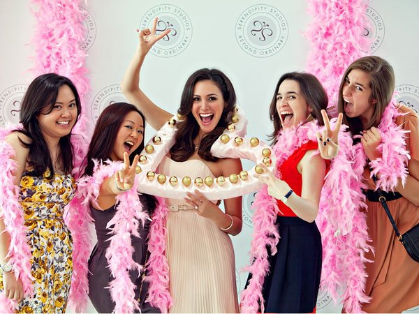 Movie Starlet-Themed Bridal Shower