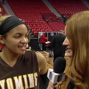 The Mountain West Network chats with Wyoming Sophomore Guard Marquelle Dent