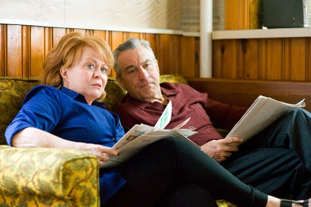 Jacki Weaver and Robert De Niro in 'Silver Linings Playbook'