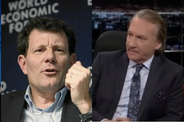 NY Times' Nicholas Kristof Challenges Bill Maher on 'Other-izing' Muslims (Video)