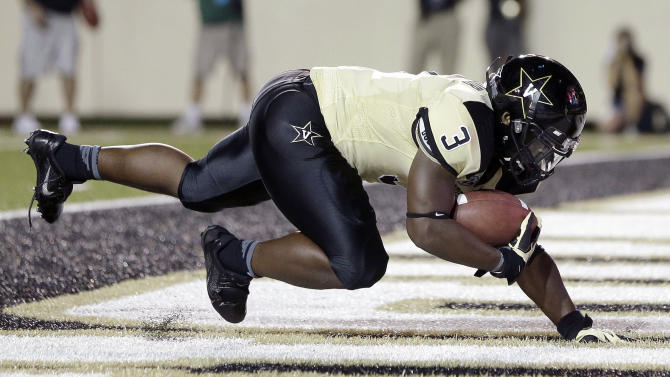 Seymour's 2 TDs lead Vanderbilt over UAB 52-24