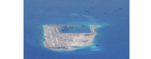 China says U.S. 'militarizing' South China Sea
