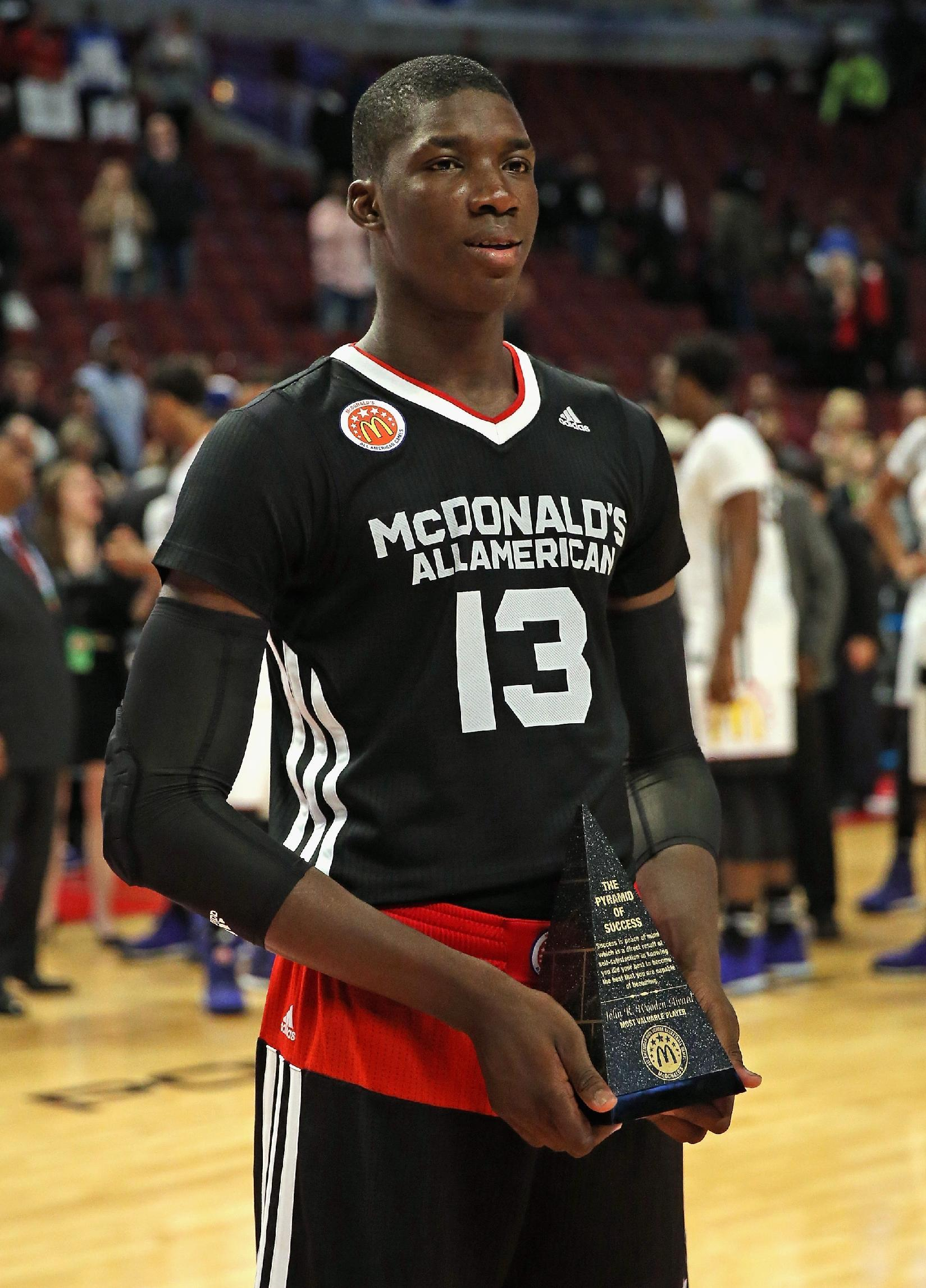 Kansas awaits NCAA decision on five-star Cheick Diallo's eligibility