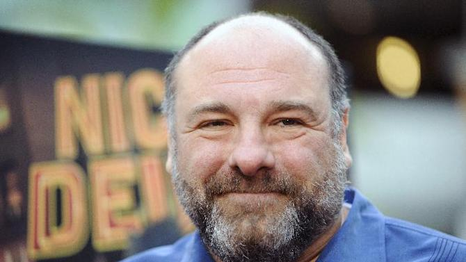 "FILE - This May 20, 2013 file photo shows actor James Gandolfini at the Los Angeles premiere of ""Nicky Deuce"" in Los Angeles. HBO and the managers for Gandolfini say the actor died Wednesday, June 19, 2013, in Italy. He was 51. (Photo by Richard Shotwell/Invision/AP, File)"