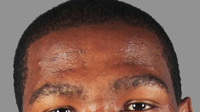 Kevin Durant Basketball Headshot Photo