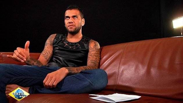 Dani Alves on Eurosport show Brazilmania