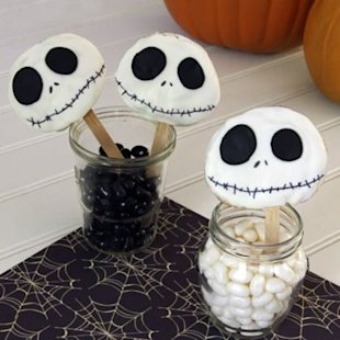 What's this? It's a spooky Skellington treat!