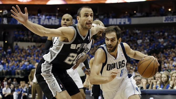 Ellis, Mavs top Spurs 113-111, force Game 7