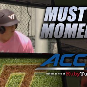 Virginia Tech's Erik Payne Crushes Grand Slam vs BC | ACC Must See Moment