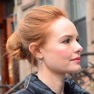 Kate Bosworth shows Helen Flanagan how to do red hair
