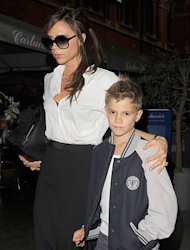Romeo Beckham is new face of Burberry